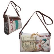 DISASTER DESIGNS NEEDLE & THREAD HANDBAG