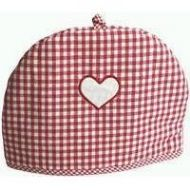 RED HEART TEA COSY