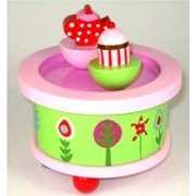 GISELA GRAHAM TEA PARTY MUSIC BOX