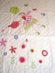 GISELA GRAHAM TEA PARTY CHILD'S QUILT