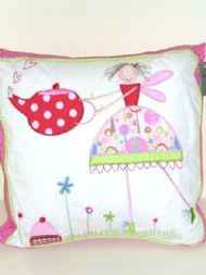 GISELA GRAHAM TEA PARTY CUSHION