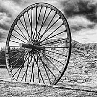 Original Fishburn Pit Wheel