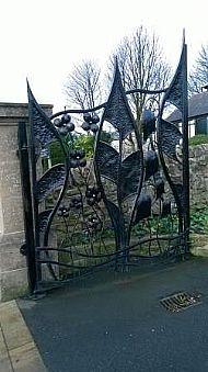 Fishburn Cemetery Gates