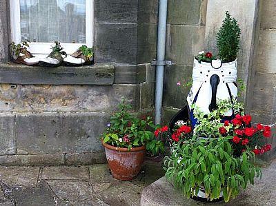 grow a garden in a golf bag