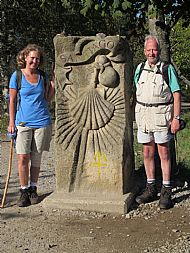 Dena and JMGG at SANTIAGO stone