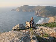 Sunset on Monte Facho, Finisterre
