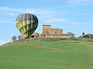 The other balloon near its landing spot