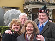 Oona and Brian Ivory, Dena, Euan Ivory