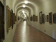 Inside the Vasari Corridor