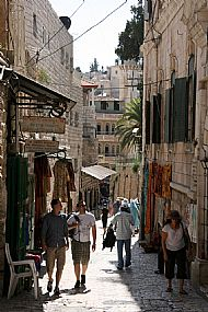 Jerusalem, the Via Dolorosa