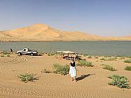 Storm Flood in the Desert