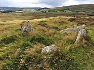 A Fantastic Tomb with a View. Ord North Cambered Cairn, at Ord Hill, Lairg