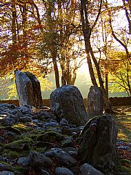 Clava Cairns at Sunrise