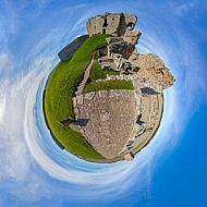 Duffus Castle Altered Reality
