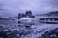 Eilean Donan in the Bleak Midwinter