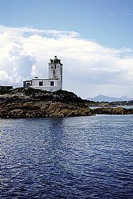 Lighthouse Breathing Blue,  Eileane a'Chait, Plockton