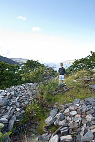 The Dun Loggie Steps