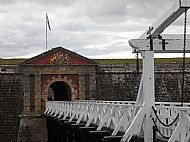 The Great Gate. Fort George, Ardersier