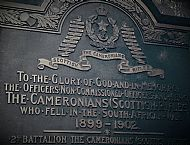 2nd Battalion Memorial Glasgow Cathedral.