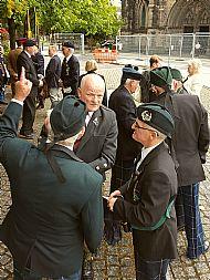 Paschendale Memorial Service.