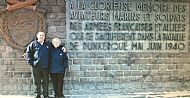 Billy and Marion McNeill at Dunkirk.