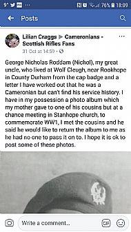Nichol Roddam.