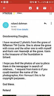 Rifleman Corrie.