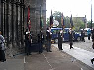 Somme Service Glasgow Cathedral July 2016.