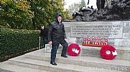 Roy on Piquets Kelvingrove 2015 Rememberance Day.