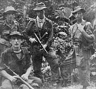 Raymond Kelly, Malaya front.
