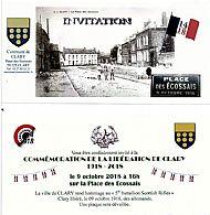 October 9th Comry Pas Dr Calais.