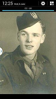 Robert McCall 1944. 6th Btn.
