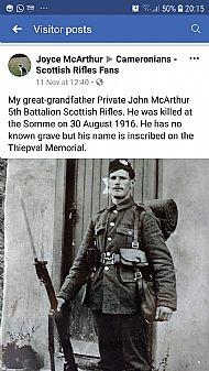 John McArthur.