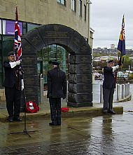 Victoria Cross Memorial.