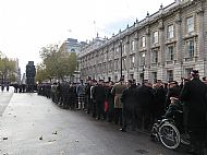 Cenotaph London 11 11 2018.