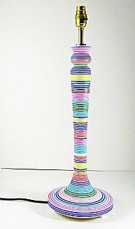 Striped lamp