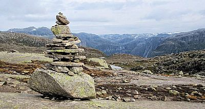 image of a cairn