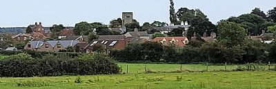 view of plumtree from the windmill mound