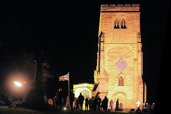 beacon at st mary's church