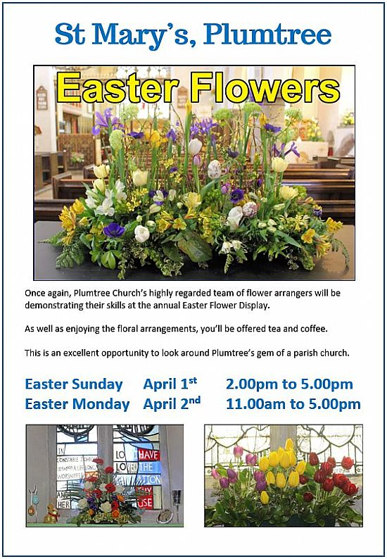 easter flowers image