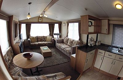 holiday caravan, beauly holiday park, inverness, highlands