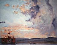 Incoming Storm, Cromarty Firth