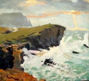 Stormy seas, Orkney