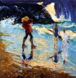 Passing storm, Cullen beach