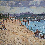 Bathers La plage, Frejus