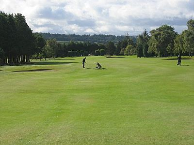 inverness golf club - a james braid golf course.