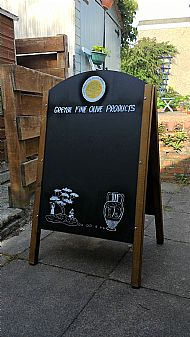 Advertising Blackboard