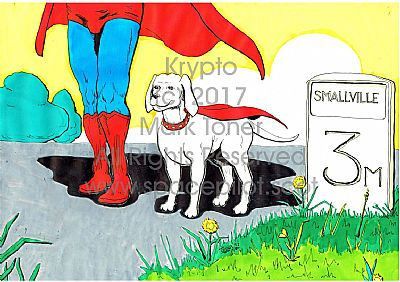 krypto and his boy