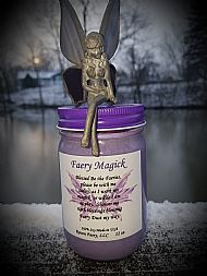 NEW!!  Faery Magick Candle 12 0z