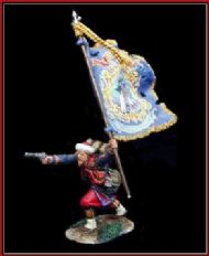 009 Zouave Advancing Flagbearer